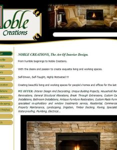 Noble creations the art of interior design from humble beginings to also rh pinterest