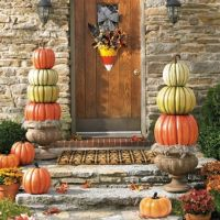 Candy Corn Door | grandinroad.com | Fall DIY | Pinterest ...