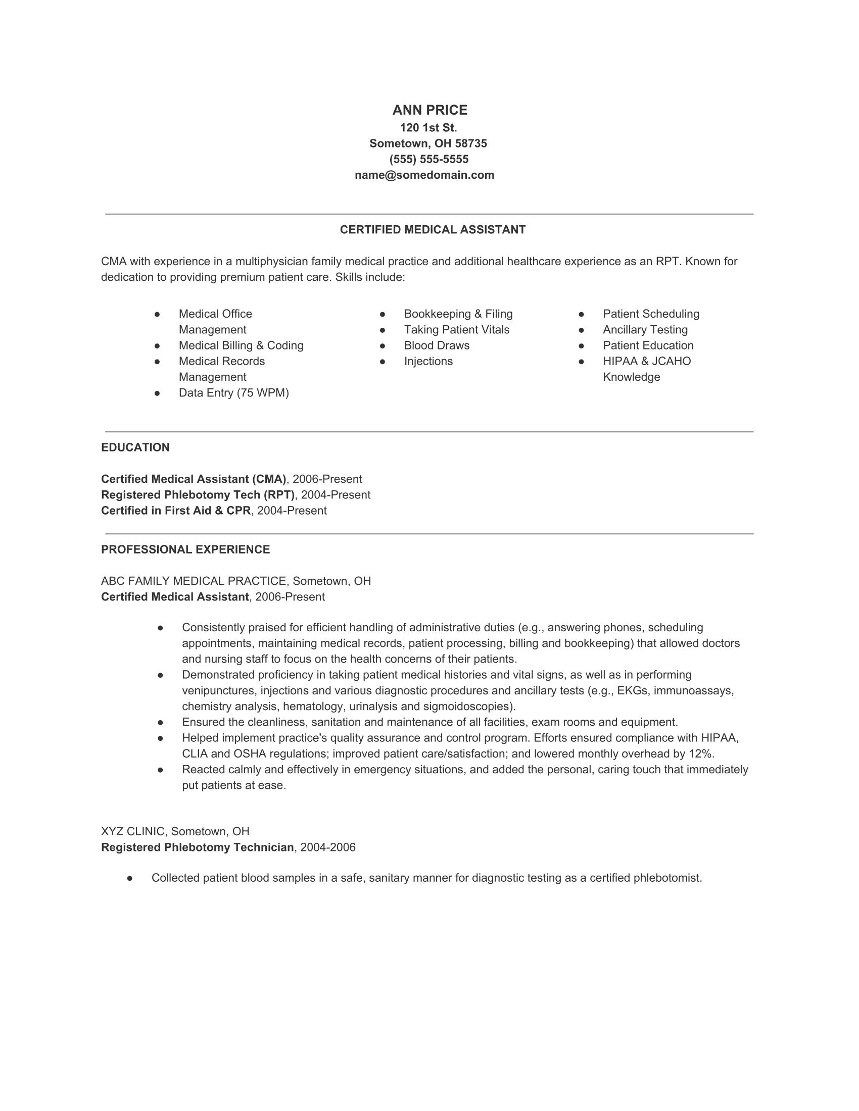 Resume Volunteer Work Experience Sample Resume Template