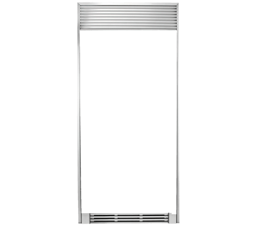 Trim Kit (louvered top) one for All Fridge and one for All