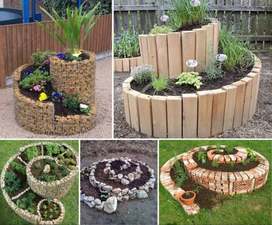 Spiral Herb Garden Is An Easy DIY To Try Gardens Herbs Garden