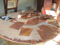 next copper table top | just things i made from copper and ...