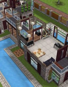 House full view sims simsfreeplay simshousedesign freeplay pinterest also rh uk
