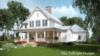 2 Story House Plan with Covered Front Porch | Car garage ...