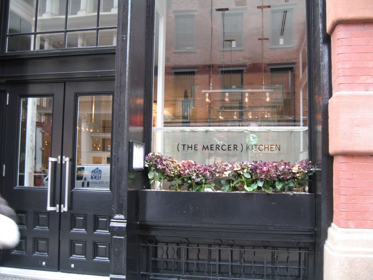 Mercer Kitchen NYC  possible lunch or dinner place for