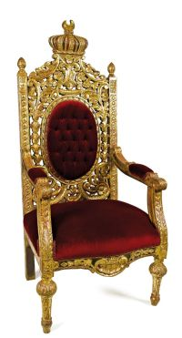 Royal Chair pinned from http://www.ozbilenlermuzayede.com ...