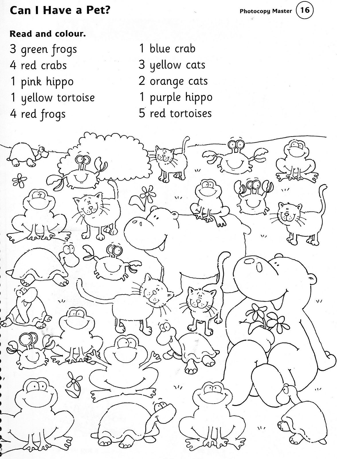 Zoo Worksheets