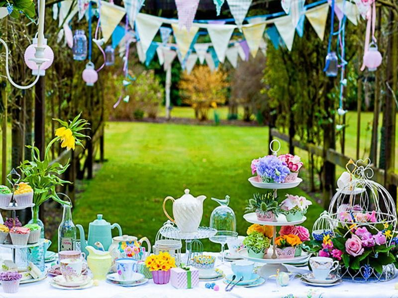 Backyard Party Decorating Ideas Outdoor Green Outdoor Party