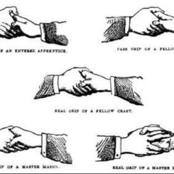 Alpha Kappa Alpha Handshake