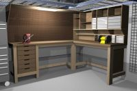 Garage Workbench on Pinterest
