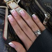 perfect french manicure nails