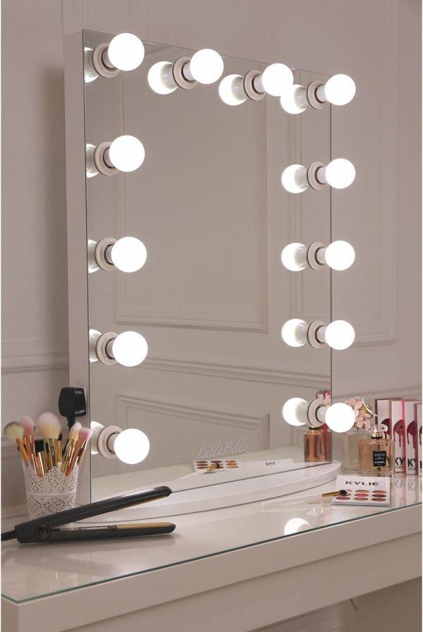 Lullabellz Hollywood Glow Vanity Mirror Led Bulbs