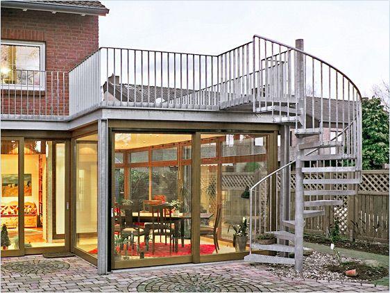 Wintergarten Terrasse Design Idee Terrassenüberdachung Und