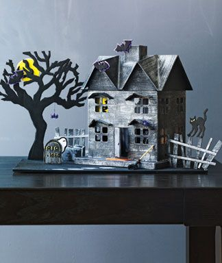 Craft Project Haunted House Haunted Houses House Repair And