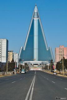 North Korea Pyongyang Hotel Inside