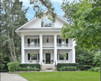 Southern Greek Revival | Homes | Pinterest | Southern ...