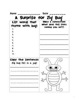 Houghton Mifflin, first grade, theme 2 supplemental skills