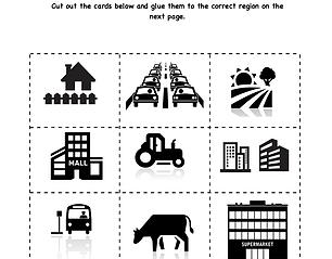 FREE Regional Sort printable-- Help students gain greater