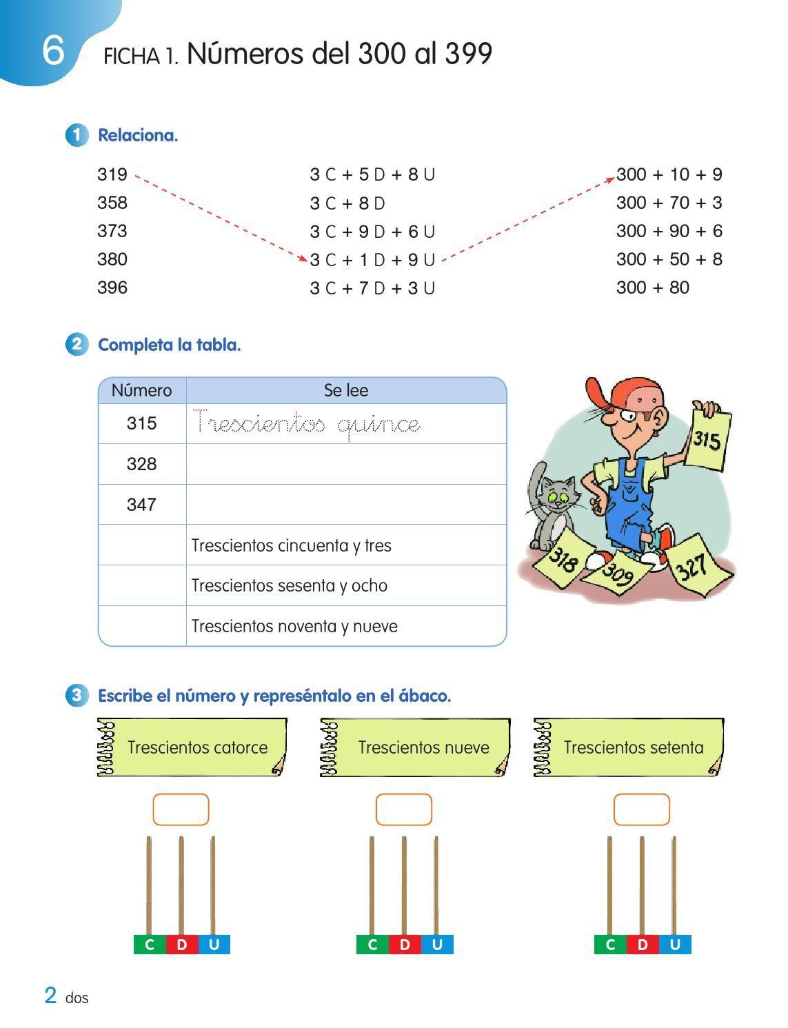 Cuaderno De Matematicas 2o De Primaria Segundo Trimestre