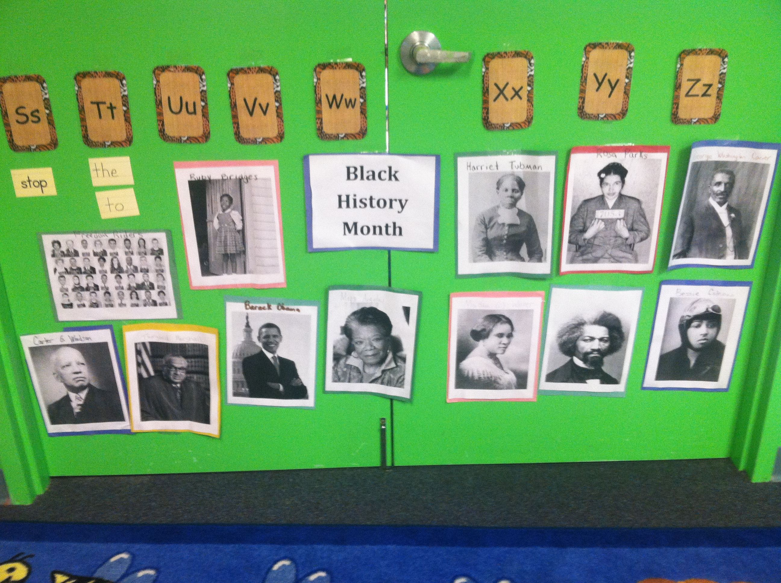Black History Month Preschool