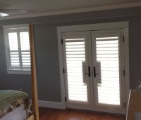 Shutters on French Doors | Sliders and Patio Door Ideas ...