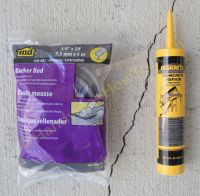 How to repair a cracked concrete patio slab with QUIKRETE ...