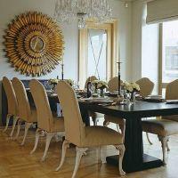 Home Design and Decor , Decorative Sunburst Mirror Wall
