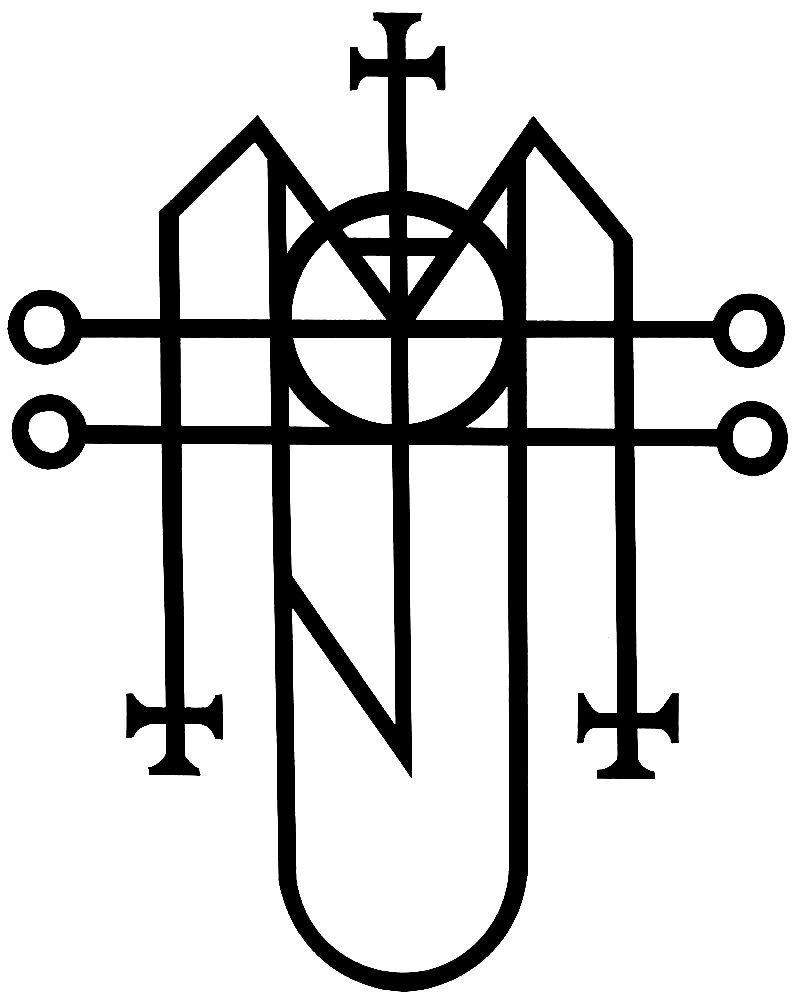 Supernatural Warding Symbols Angel