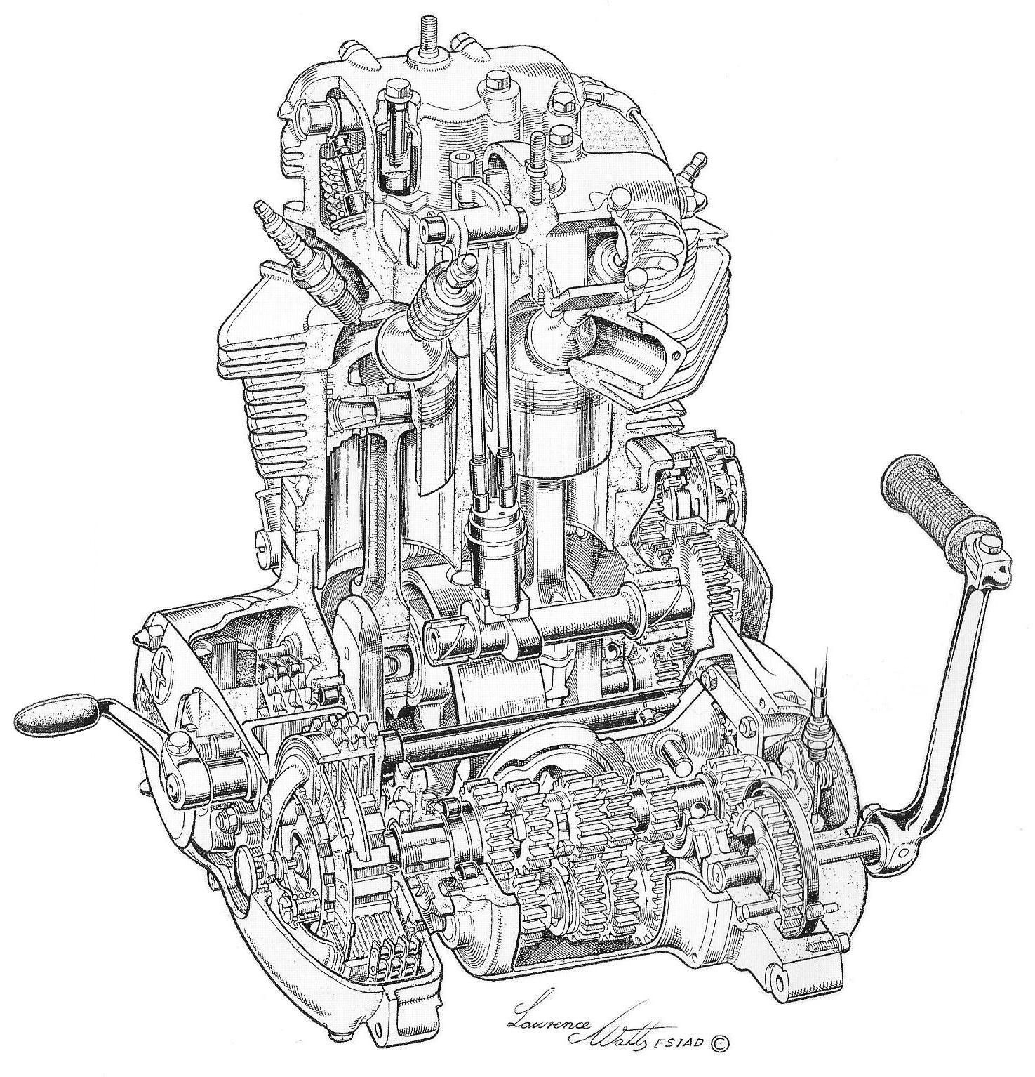Jaguar Type 3 0 Engine Diagram