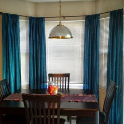 Kitchen Nook Curtains Knobs Lowes Curtain Rod For Corner Window Make Windows Look Beautiful