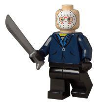 "Jason Voorhees custom printed 2"" toy minifigure with ..."