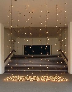 Dream wedding also would be  simple but elegant backdrop for an indoor ceremony rh pinterest