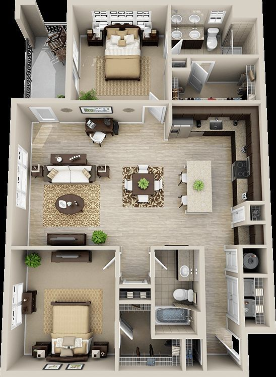 Interior Decoration 2bhk Flat