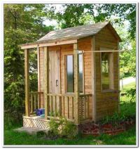small storage shed with windows | play house shed ...