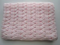 Interlocking Shell Stitch, Easy Crochet Afghan Pattern