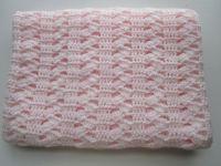 Interlocking Shell Stitch, Easy Crochet Afghan Pattern ...