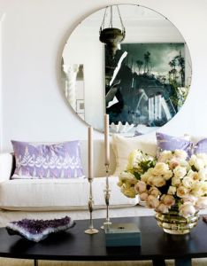 How to decorate with mirrors also interior intrigue pinterest rh in