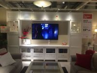 IKEA Besta entertainment center.