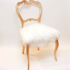 Vanity Chair White Fur Large Baseball Bean Bag Consider Dressing Your Sofa And Seats In Custom Faux