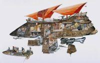 jabba's sail barge - Google Search | Saga Edition ...