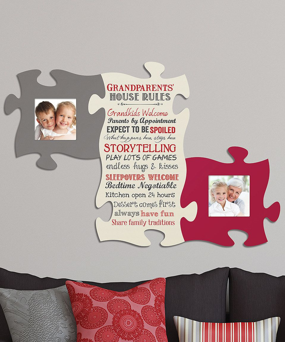 Look What I Found On Zulily Grandparents Puzzle Photo Frame ...