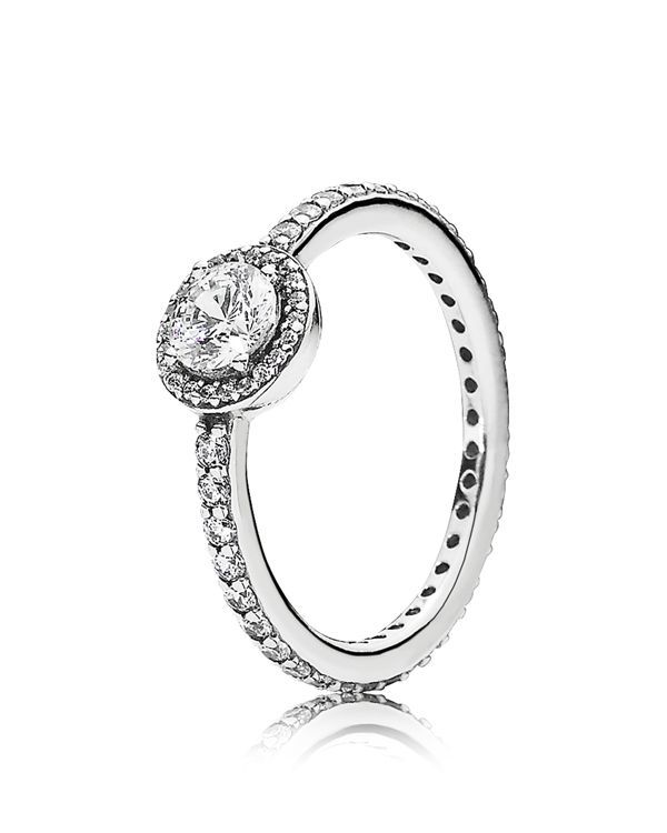 Pandora Ring  Sterling Silver  Cubic Zirconia Classic