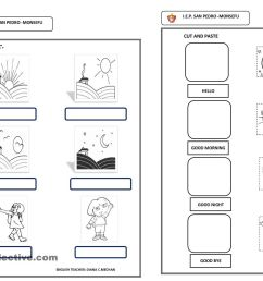 Worksheets Grade 1 French Greetings   Printable Worksheets and Activities  for Teachers [ 1018 x 1440 Pixel ]