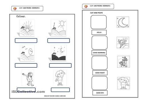 small resolution of Worksheets Grade 1 French Greetings   Printable Worksheets and Activities  for Teachers