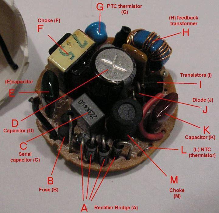 Small Led Circuit Board Hacked Gadgets Diy Tech Blog