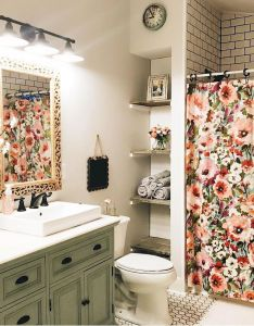 beautiful farmhouse bathroom remodel decor ideas also future house rh pinterest