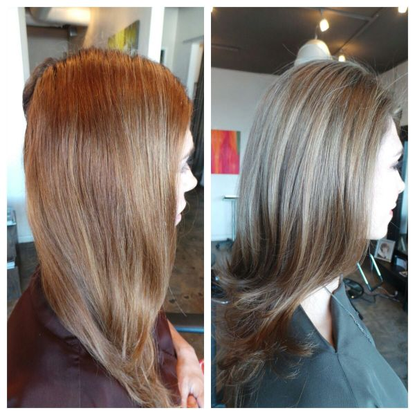 d5940649e Left Brassy Uneven Dye Job And - Year of Clean Water