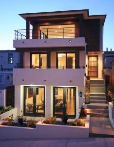 Home design modern house facade in with tropical exterior nice facades and also rh fr pinterest