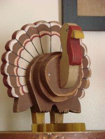 Wooden Turkey Gobble Gobble