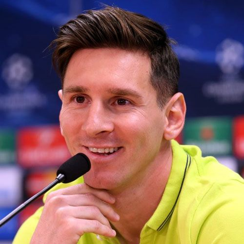 Lionel Messi Haircut Messi Lionel Messi And Hairstyles